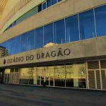 entrada do estádio do dragão