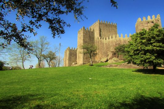 The first portuguese castle - Guimaraes