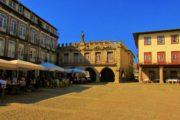 oliveira square in Guimaraes