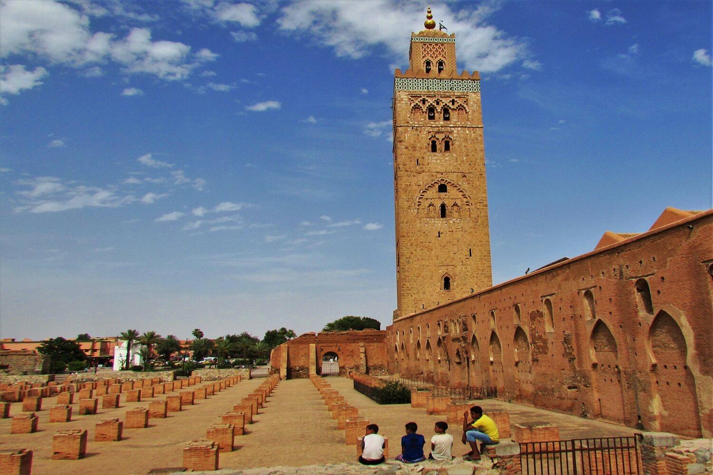 a mesquita koutoubia marraquexe