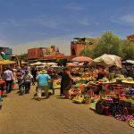 mercado da medina de marraquexe