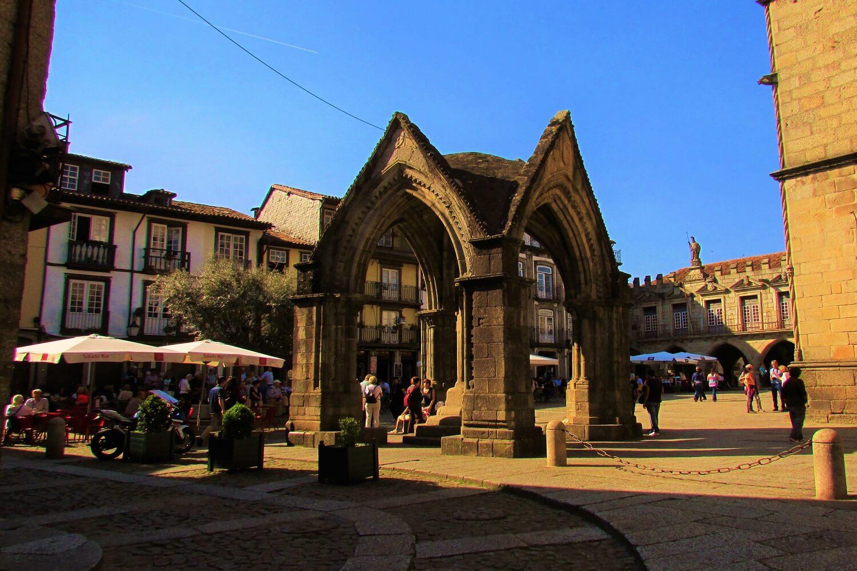 o Padrao do salado no centro de Guimarães