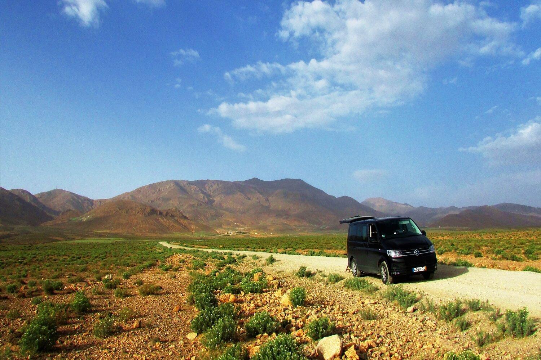wv caravelle em viagem em morocco