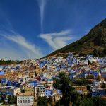 vista sobre a cidade azul: chefchaouen