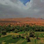 o oásis e a cidade velha de thinghir, património unesco em marrocos