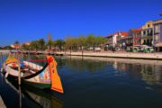 aveiro river and the tradicional boats