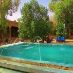 piscina do hotel no deserto do sahara