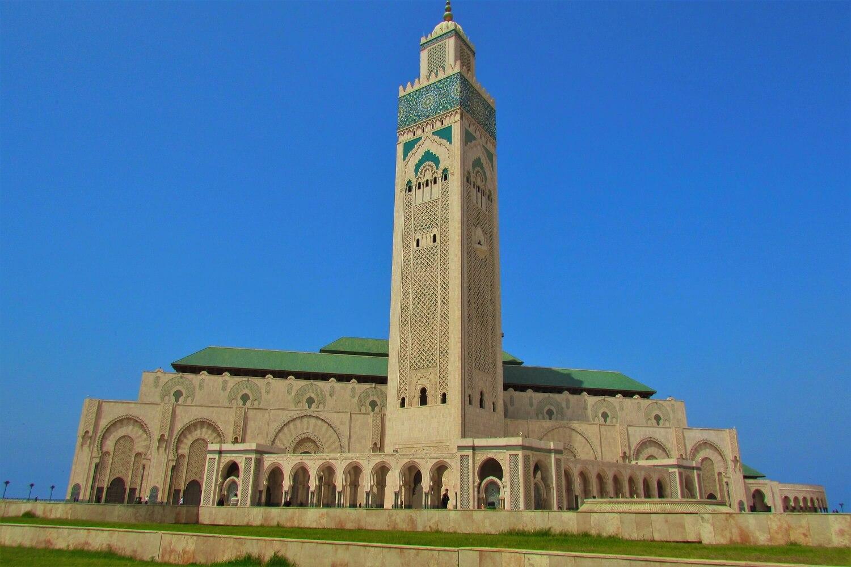 a grande mesquita de hassan II em casablanca