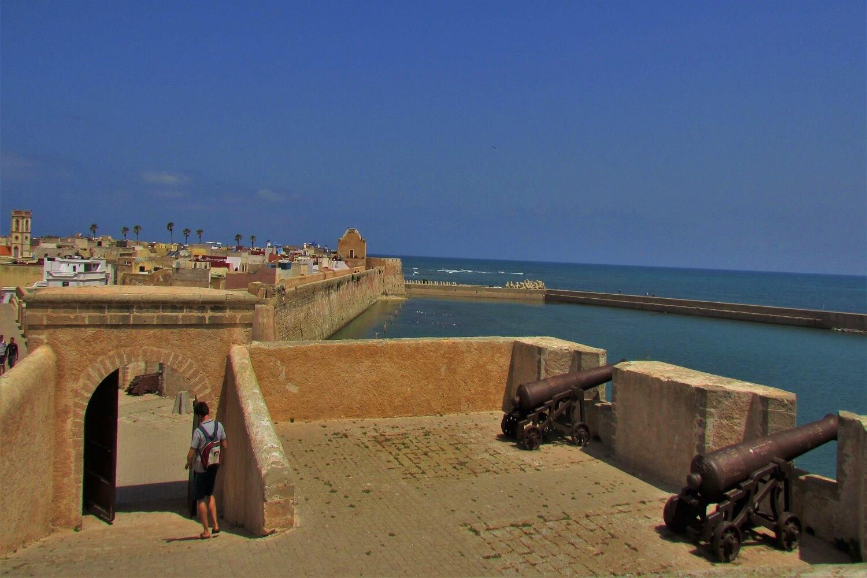 a fortaleza portuguesa de mazagão, em el jadida