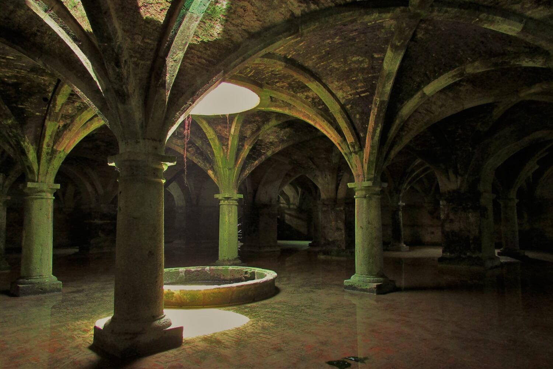 as cisternas portuguesas de el jadida, antiga cidade de mazagão
