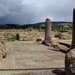 ruínas romanas de volubilis em marrocos