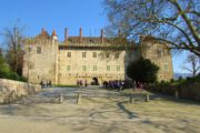 The dukes of Braganza palace in Guimaraes
