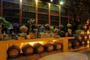 barrels and bottles of port wine