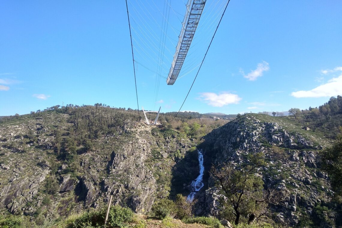 Paiva longest suspension bridge in the world