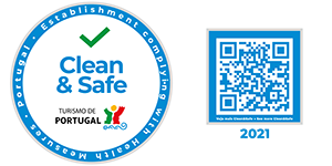Logótipo clean and safe 2021